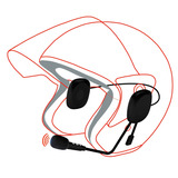 Manos Libres, Bluetooth Para Casco De Motocicleta