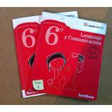 Libro Lenguaje 6 Proyecto Bicentenario Santillana