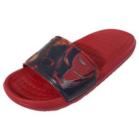 Sandalias Disney Marvel Avengers Iron Man Niño adidas Aq5117