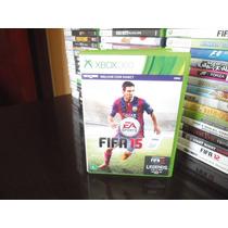 Fifa 15 Xbox 360 Original Impecável