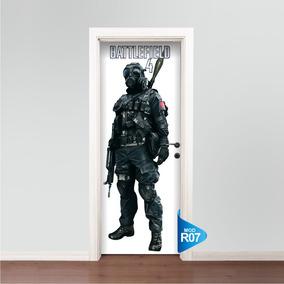 Adesivo 123 De Porta Skin Ps3 Xbox Battlefield R07