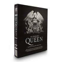 Livro Novo - 40 Anos De Queen - Com Cd - Rico Em Ilustrações