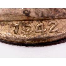 Variante Moneda 20 Centavos 1942, 9 Abierto, Fecha Chica