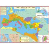 Mapa Império Romano - Escola Geografia História Vestibular