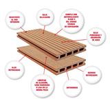 Deck Compuesto Deck Sintetico Desde $950.00 Por M2
