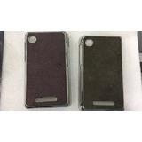 Capa Tpu + Película Plástico Celular Motorola Ex118 E Ex119