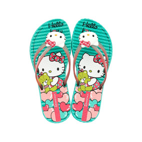 Chinelo Infantil Feminino Hello Kitty Pop - Ipanema