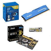 Kit I5 Asus H81m-a + Intel Core I5 4460 + 8gb Ddr3 Hyper X