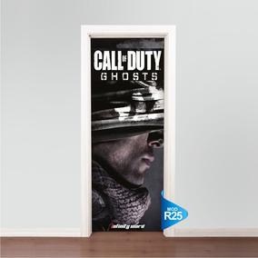 Adesivo De Porta Skin Ps3 Ps4 Call Of Duty Ghosts R25