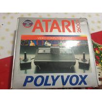 Atari 2600 Com Caixa Excelente