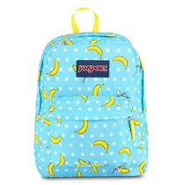Mochila Jansport Superbreak Blue Topaz Oh Bananas