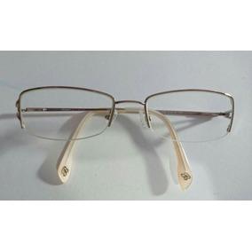 Oculos De Grau Armação Rosa Com Strass Bulget