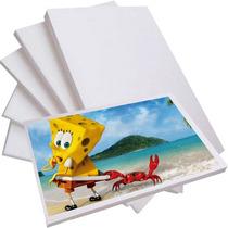 Papel Fotográfico Glossy Brilhante A4 180g 100 Folhas