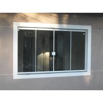 Porta De Vidro Temperado Fumê 900x2100 Kit Com 2 Portas