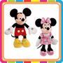 Peluche Disney Mickey Minnie Pluto Donald Goofy Mundo Manias