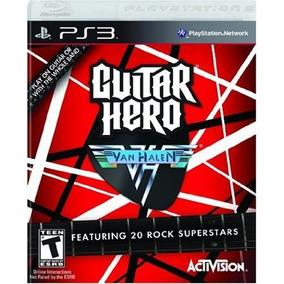 Juego Ps3 Guitar Hero Van Halen Formato Fisico - Flores
