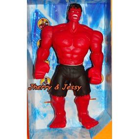 Boneco Hulk Vermelho