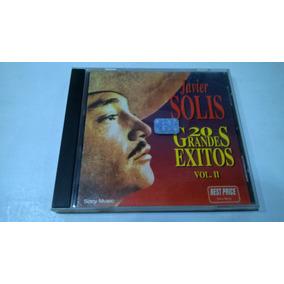 20 Grandes Éxitos Vol. Ii, Javier Solís Cd 1995 Nacional Ex