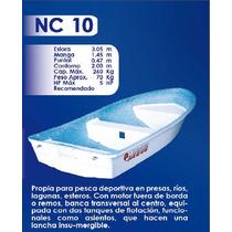Lancha Fibra De Vidrio 10 Pies Nc-10 | Argos