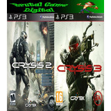 Crysis 2 Y 3 Ps3 Digital Oferta!!!