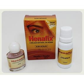 Henna Sobrancelhas Acaju 6.64 Henafix Maquiagem Rena