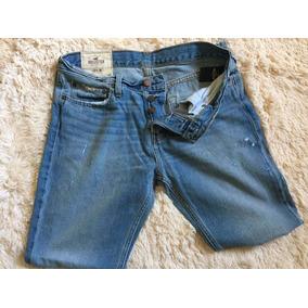 Calça Jeans Original Hollister Masculina Casacos Abercrombie