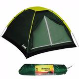 Barraca Camping Igloo Para 2 Pessoas Com Bolsa Transporte Nf
