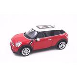 Welly 1:24 Mini Cooper S Paceman Diecast Modelo Coche Rojo