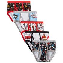 Power Rangers Paquete 5 Calzones T - 8 Envio Gratis