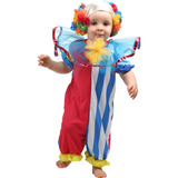 Fantasia Palhaço Palhacinho Bebê Tam P ( 1 Ano )
