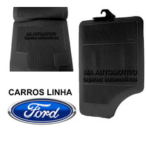 Tapete Borracha Ford Escort 84 85 86 87 88 89 90 91 Kit 4pçs