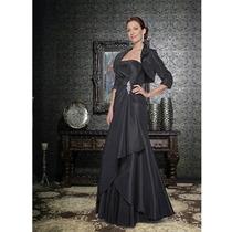 Vestido Fiesta Noche Alta Costura La Perle Talla 8 $440 Dlls