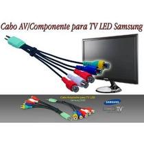 Cabo Av Componente Adaptador Tv Led Sansung Lcd Xbox Ps3 Ps4