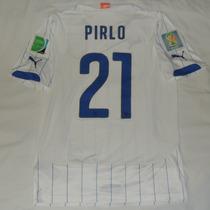Jersey Seleccion Italia Mundial 2014 Puma Andrea Pirlo 21