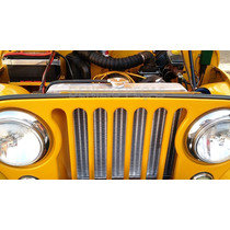Radiador De Aluminio Jeep Willis Hot Rod V8 Antigos Etc