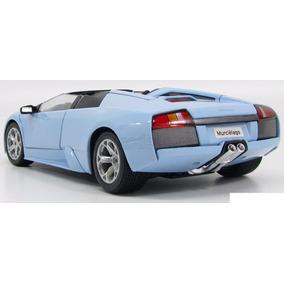 Bburago Lamborghini Murciélago Roadster, Esc 1:18, Baby Blue