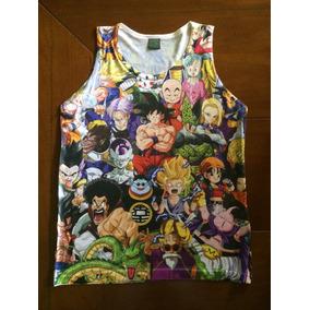 Camisa Dragon Ball Z - Camiseta Desenho Diferente Anime Dbz