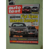 Auto Test 207 Fiat Siena Bmw 330 Sandero Citroen C4 Fiat 124