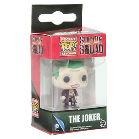 Funko Pop Llavero The Joker Suicide Squad Dc Comics Guason
