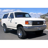 Manual De Servicio Taller Ford Bronco - F150 80-95