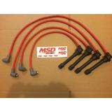 Cables De Bujias Msd 8.5mm Honda Civic 1.5l 1.6l 2.2l 2.3l