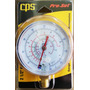 Manómetro Alta R22 R12 R134a 120psi Refrigeración Cps Rgzh