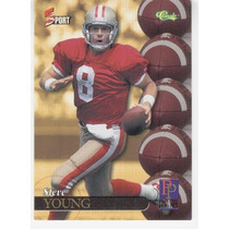 1995 Classic 5 Sport Picture Perfect Steve Young 49ers