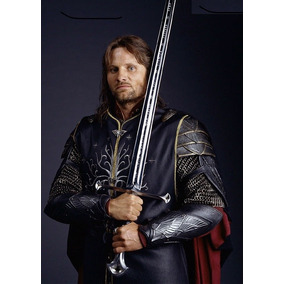 Espada Senhor Dos Anéis Aragorn Tamanho Real + Bainha