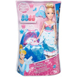 Boneca Princesa Lindo Vestido Cinderela