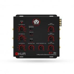 Crossover Db Drive E73x Amplificado 3 Vias Nuevo Garantia