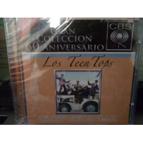 Los Teen Tops Rock Mexicano 60 Años Cbs 2007 Cd Doble
