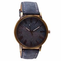 Relógio Azul Social Importado Em Oferta Bonito E Barato