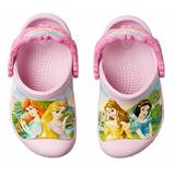 Crocs Princesas Originales Importados Varios Talles!!