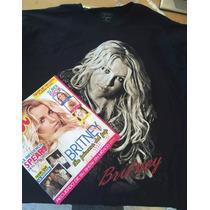Playera + Regalo Britney Spears - Femme Fatale + Poster